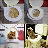 Ducomi® Bobo–Toiletten-Trainingsset für Katzen