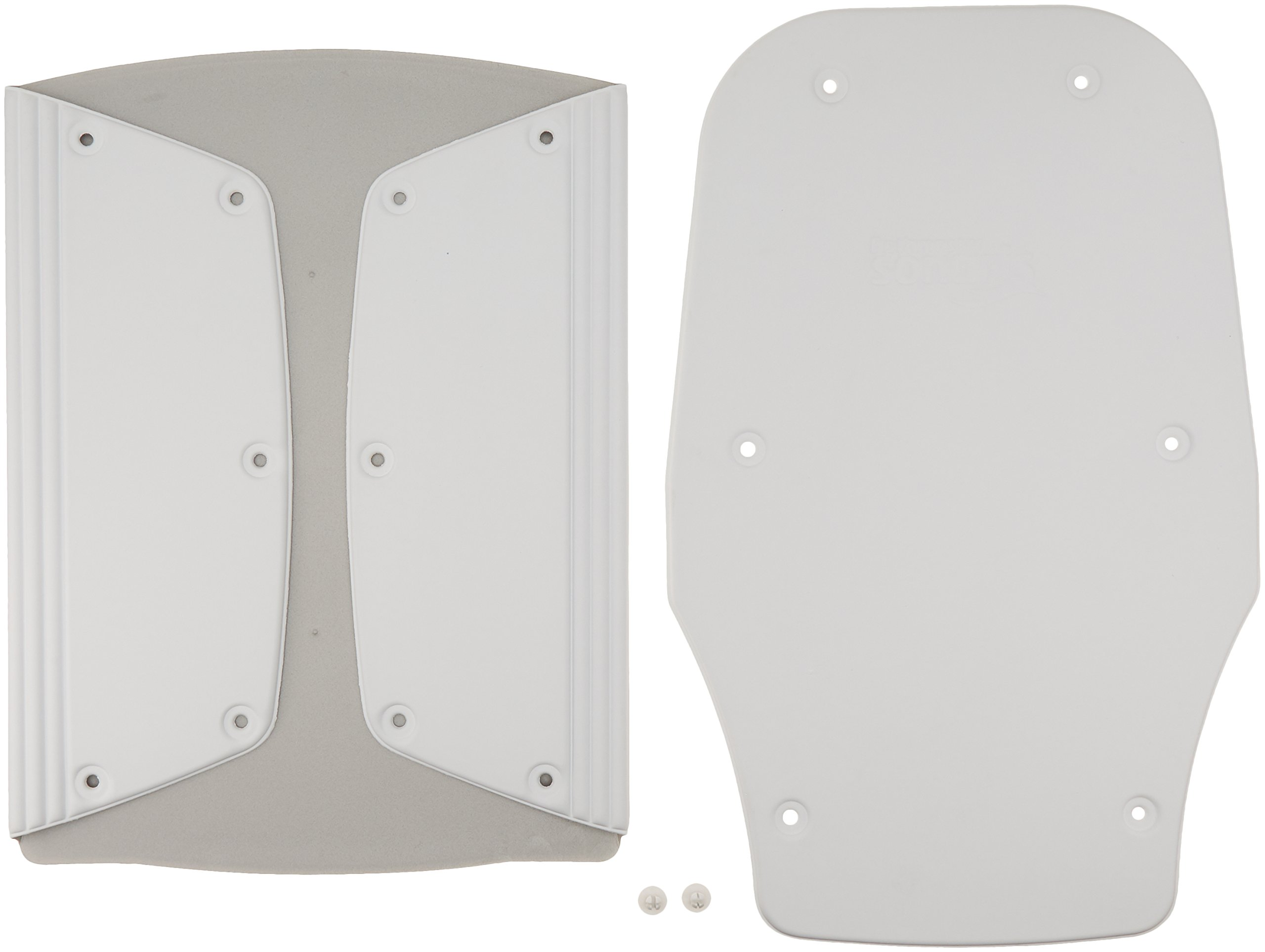 Bathmaster Sonaris White Cover, Standard White Cover for Sonaris Reclining Bathlift, Comfortable 1/4'' Foam Seat and Backrest Cover Protects Bath Lift, Easy to Use and Washable Cover Snaps Into Place by Sammons Preston