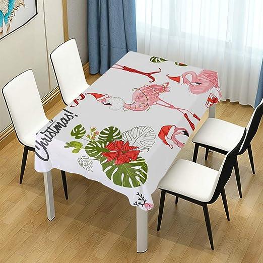 DXG1 Mantel de Navidad para Mesa de Comedor, decoración para ...