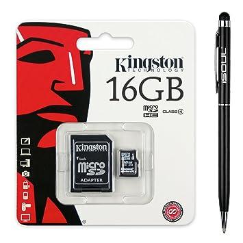 Tarjeta de memoria flash Micro SDHC de Kingston con ...