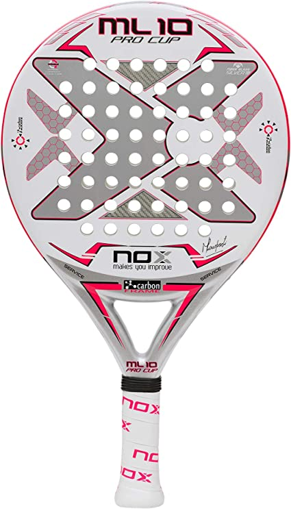 Amazon.com : NOX ML10 Pro Cup Silver Paddle Tennis Racket ...