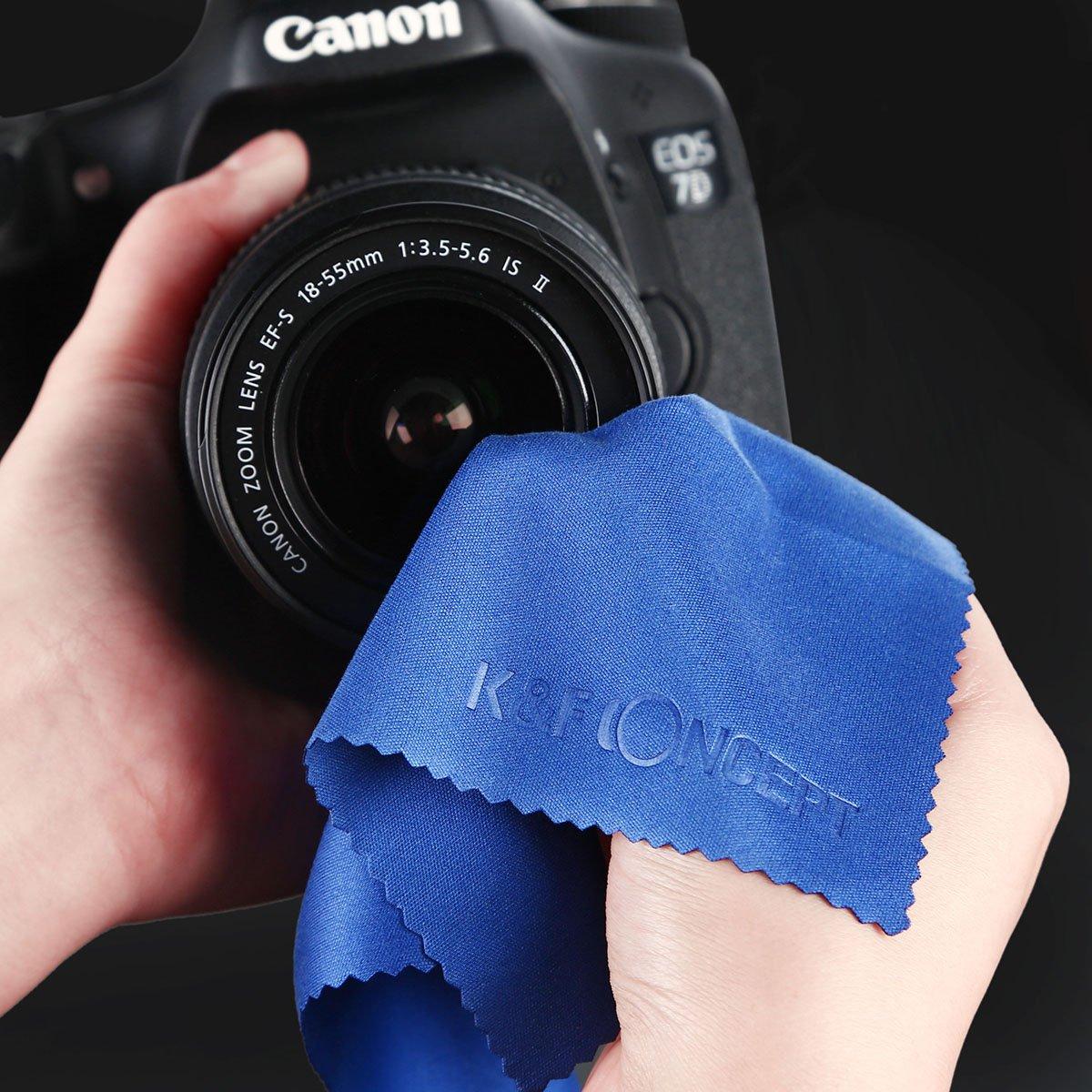 3 Slot Filter Pouch 52MM ND Filter,K/&F Concept 52mm Neutral Density Filter Set ND2 ND4 ND8 Kit ND Filter 52MM ND Filter Kit for Canon Nikon DSLR Cameras Microfiber Lens Cleaning Cloth