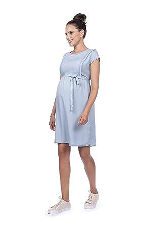 047b3a22b34fd Seraphine Women's Tencel Maternity & Nursing Dress at Amazon Women's ...