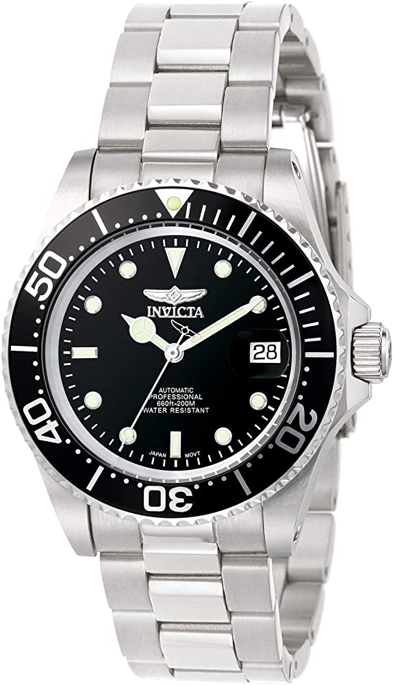 Invicta Men 8926OB Pro Diver Stainless Steel Automatic Watch with Link Bracelet