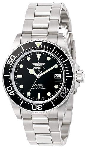 3. Invicta Herren Analog Automatic Uhr mit Edelstahl Armband 8926OB Test