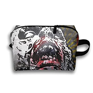 Personalized Make Up Bag Customize Dark Zombie Cosmetic Pouch