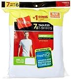 Amazon Price History for:Hanes Men's 7 Pack Freshiq Comfortsoft Crewneck T-Shirt