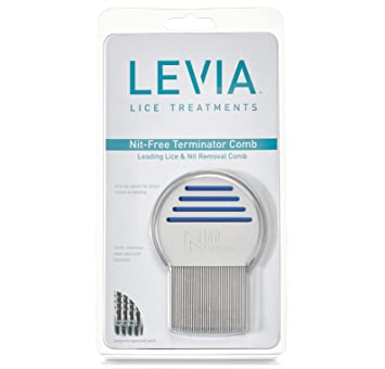 Amazon Levia Nit Free Terminator Lice Comb 1 Rated Lice