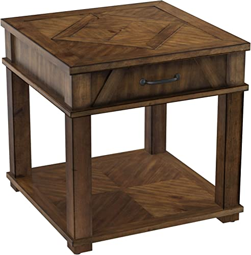 AGEWEED Wood End Table