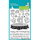"LAWN FAWN Clear Stamps 4""X6"" Forest Feast (LF1464)"