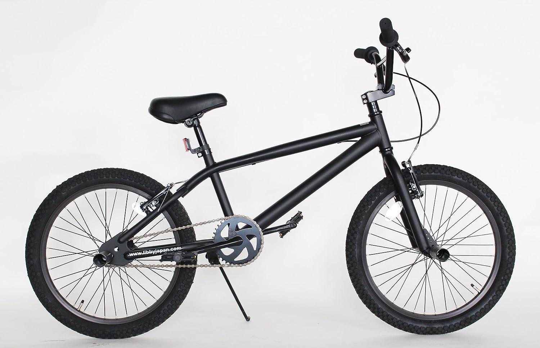 BMX モアノ(moineau) 20インチ 自転車 マット ブラック REI 送料無料 ストリート トリック 【限定生産】 B0749F8KQ6