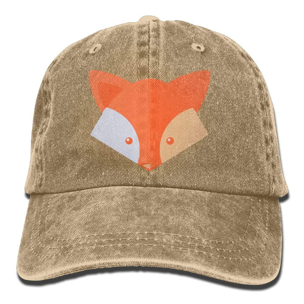 cd8059743 Amazon.com: Baseball Cap for Men and Women, Fox Design and ...