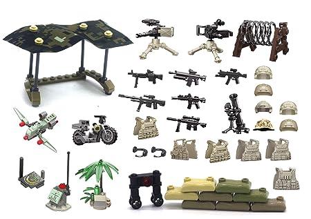 Magma Brick: Mini figuras de Lego personalizadas - Camuflaje Carpas ...