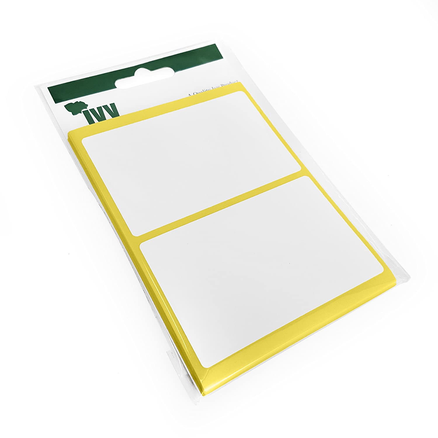 9 x 13mm Stickers 1,350 Self Adhesive Sticky White Labels Ivy Stationery
