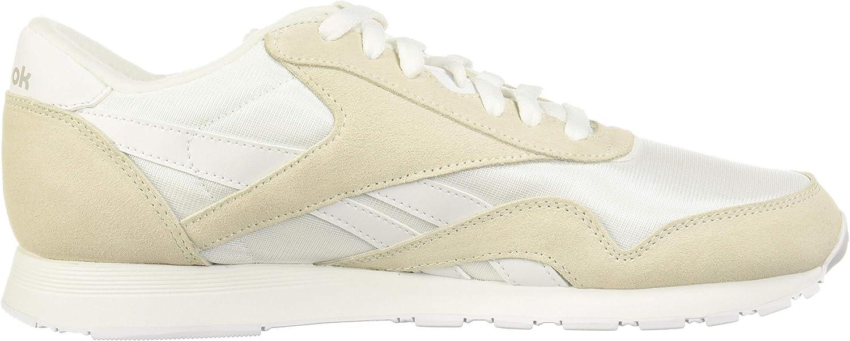 Reebok Herren Cl Nylon Leichtathletik-Schuh White Light Grey None
