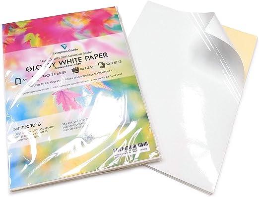 Cool Toner Folios adhesivos de papel de impresión de etiquetas ...