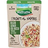 Valfrutta I Pronti al Vapore Bulgur, Quinoa, Riso Rosso, Pomodori, Olive Verdi 220Gr
