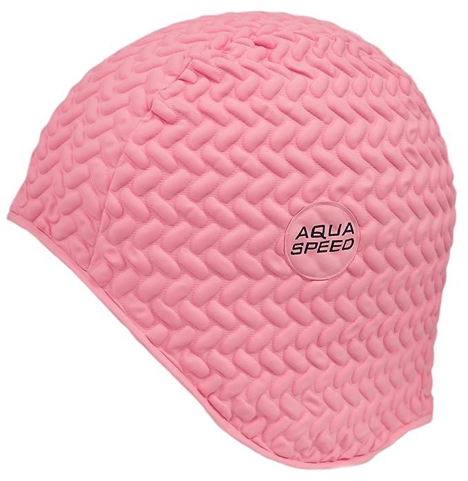 Aqua Speed AQUASPEED® BOMBASTIC TIC TAC Cuffia di bagno (Nuoto Lattice di  gomma Protezione Comoda) 0092b1bd342d