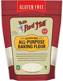 product image for Bob's Red Mill Resealable Gluten Free All Purpose Baking Flour, 22 Ounce (Pack of 2)