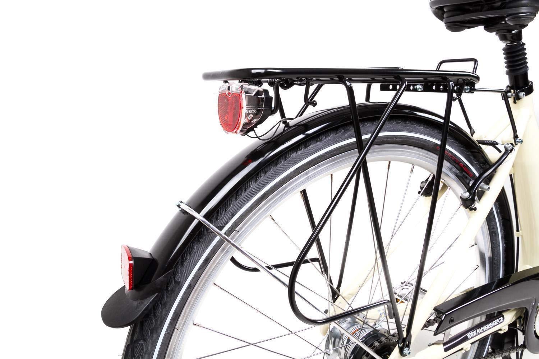 28 Alu Damen City Bike Easy Boarding Tiefeinsteiger Shimano 7 Gang R/ücktritt beige B-Ware