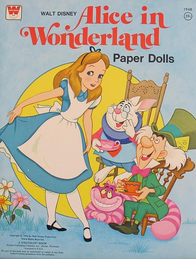 Amazon.com: Walt Disney Alicia en el País de las maravillas ...