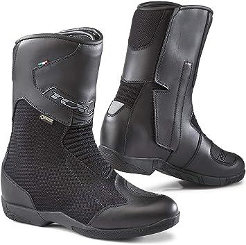 42 Black TCX Motorcycle Boots Mood GTX Black