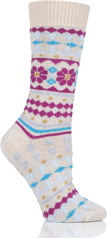 Thought Women Viktoir Wool Fair Isle Socks Pack of 1