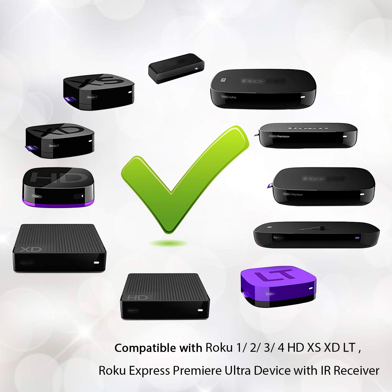 Amazon New Ir Replaced Remote Fit Roku 1 2 3 4 Hd Lt Xs Xd Roku