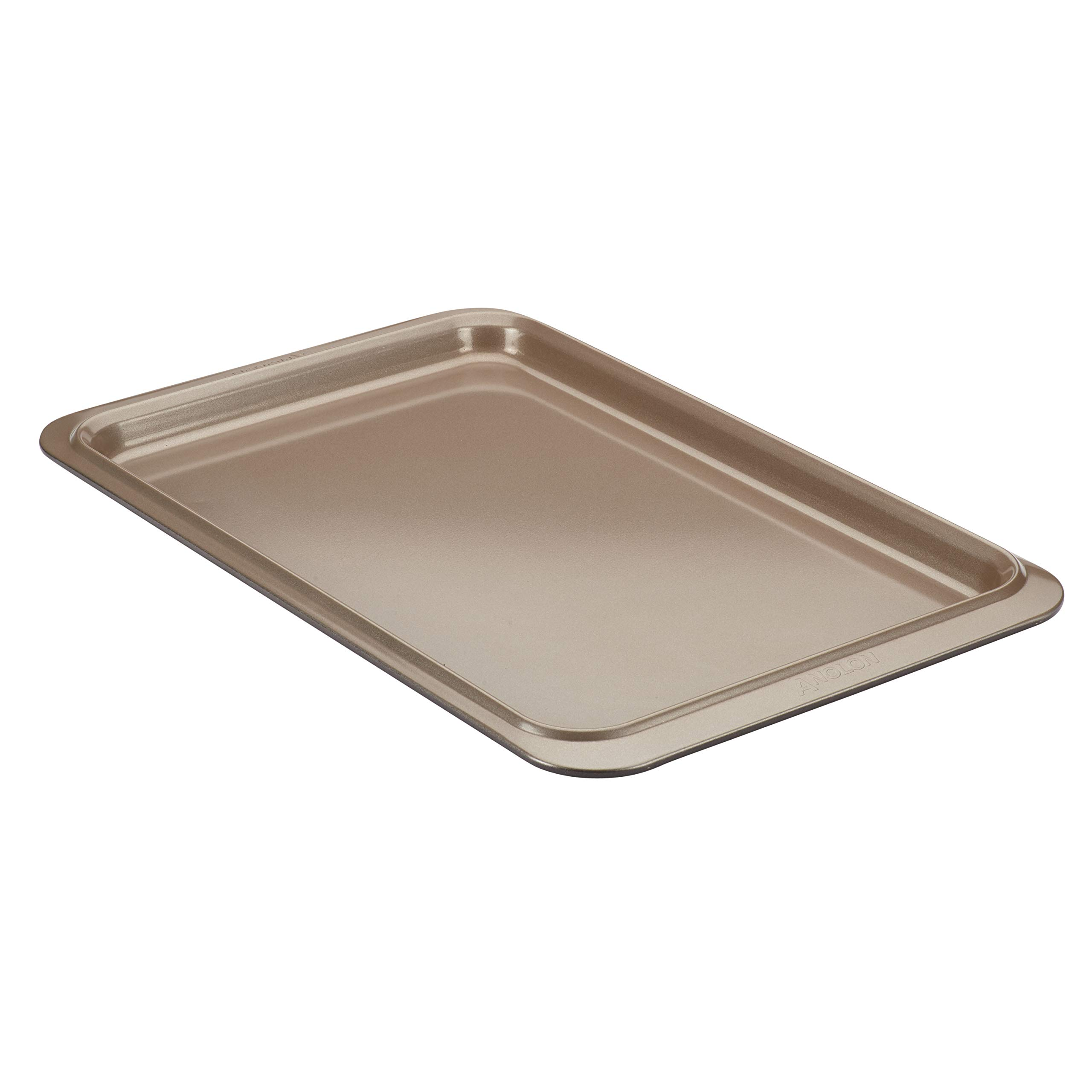 Anolon Eminence Nonstick Bakeware Cookie Pan, 11-Inch x 17-Inch, Onyx with Umber Interior by Anolon (Image #1)