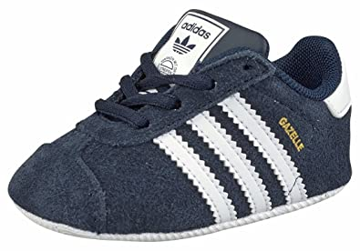 adidas Originals Gazelle Crib Shoes (5 M US Infant)  Amazon.co.uk ... 9d083bf468f