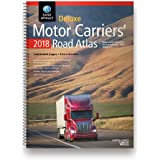 Rand McNally 2018 Deluxe Motor Carriers Road Atlas for US, Canada & Mexico with Spiral Binding & Laminated Pages