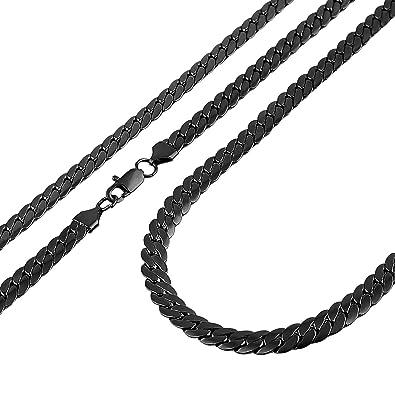 Amazon.com: HZMAN - Collar clásico para hombre con cadena de ...