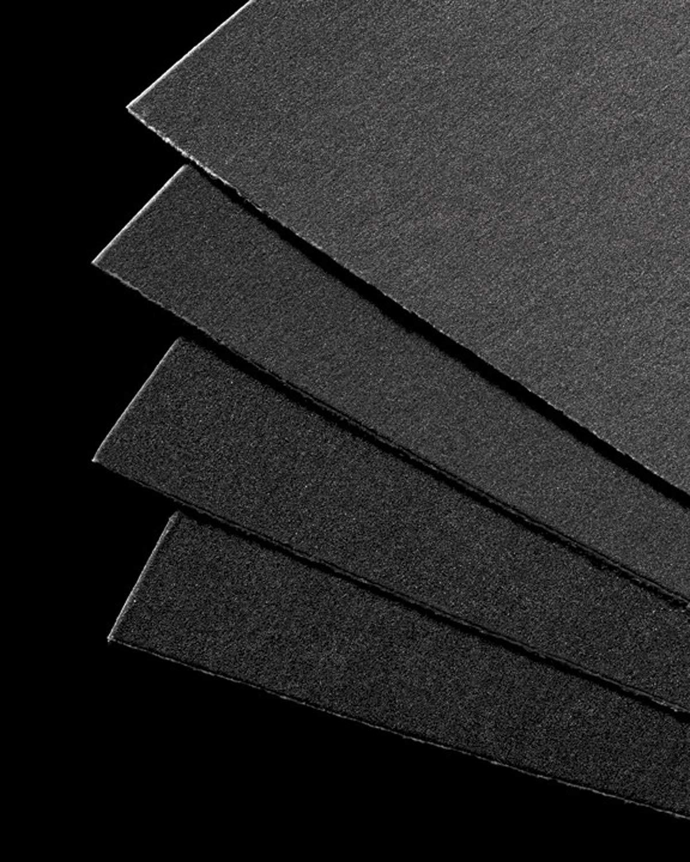 UART Grade 400 Dark Premium Sanded Pastel Paper - 21'' x 27'' Ten Pack by Uart