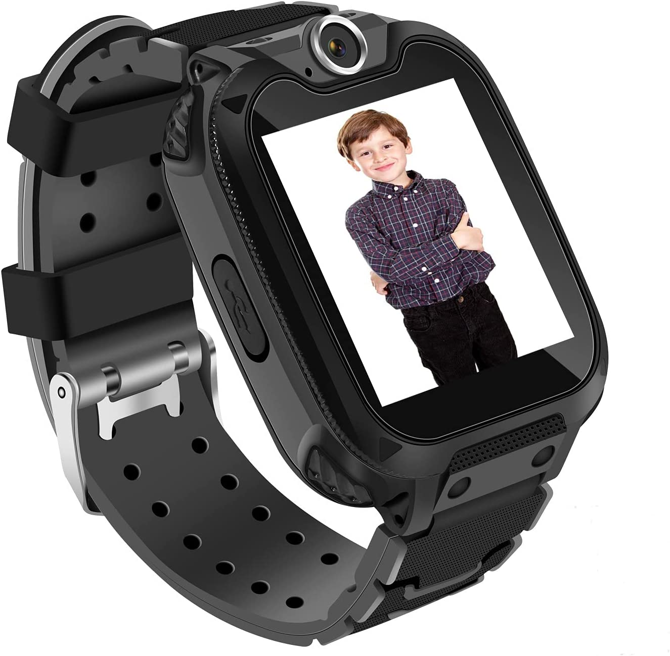 """Kids Smart Watch for Girls Boys with 1GB SD Card,Phone Call Games Music Camera Alarm Recorder SOS,1.54""""Color Touch Screen Smartwatch for 3-13 Years Children Birthday Gift"""