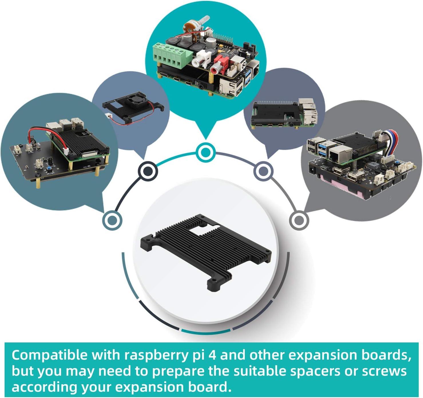 RP02004 Qita Raspberry Pi Radiator Cooler Heatsink 3 PCs
