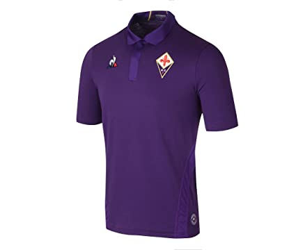 545eaafda Image Unavailable. Image not available for. Color  Le Coq Sportif 2018-2019  Fiorentina Home Football ...