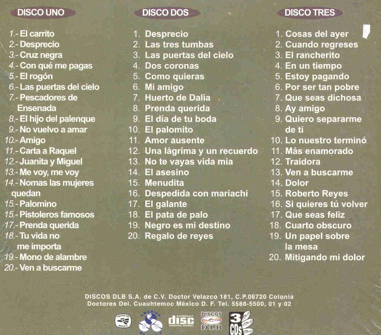 LOS CADETES DE LINARES - 60 GRANDES EXITOS DE LOS CADETES DE LINARES - Amazon.com Music