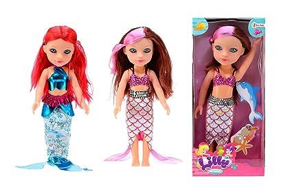 Amazon.es: Toi-Toys - Muñeca 29 cm a Traje de Sirena 2 ...