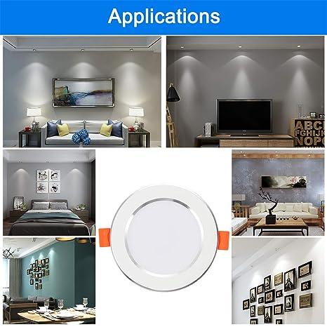 best loved 52c8d 4d02b Amazon.com: Motion Sensor Ceiling Light 7Watt 6500k ...