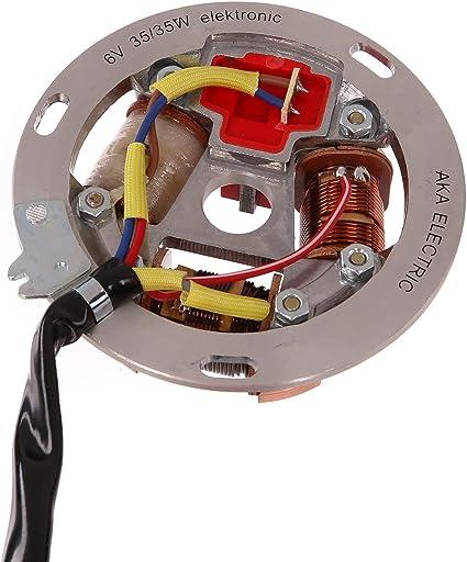 Fez Grundplatte 8305 1 4 100 6v Elektronik 35 21w Bilux Für Simson S51 S70 Auto