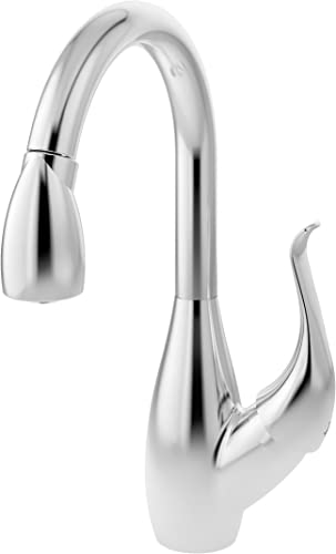 Symmons S-2620-L Moscato Single-Handle Pull-Down Kitchen Faucet in Polished Chrome 2.2 GPM