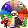 Filament Pla 1,75mm Pour Stylo 3D Diklale Refills d'Imprimante 3D 16 Couleurs Différentes Et 6 Mètres Pour Les Stylo d'Impression 3D Polaroid, Scribbler, Sunlu, Lix, Amzdeal, Nextech
