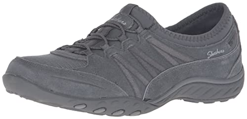 Skechers Breathe Easy - Moneybags, Zapatillas sin Cordones para Mujer: Amazon.es: Zapatos y complementos