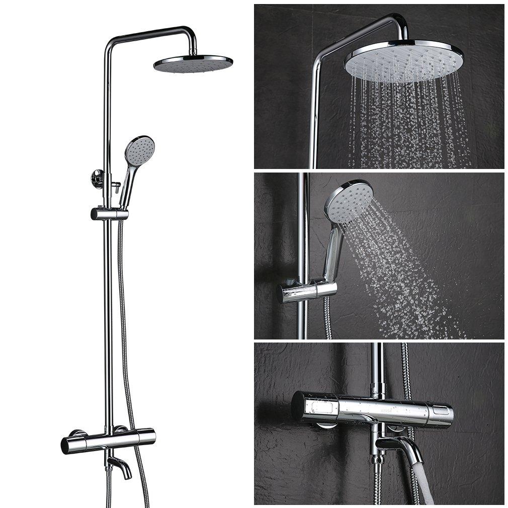 colonne de douche avec robinet pour baignoire free avec robinet baignoire luminaire salle de. Black Bedroom Furniture Sets. Home Design Ideas