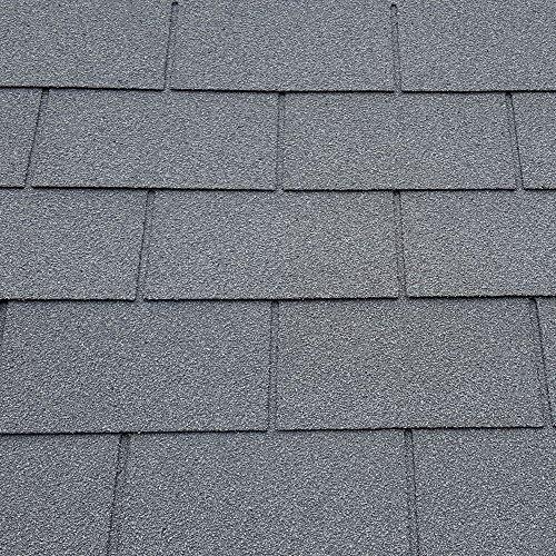 Roofing Felt Shingles   Shed Roof Felt   Square Butt   4 Tab Grey