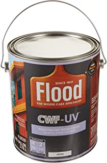 Amazoncom Flood Cwf Uv5 Wood Finish Oil Base Natural 1 Gal Home