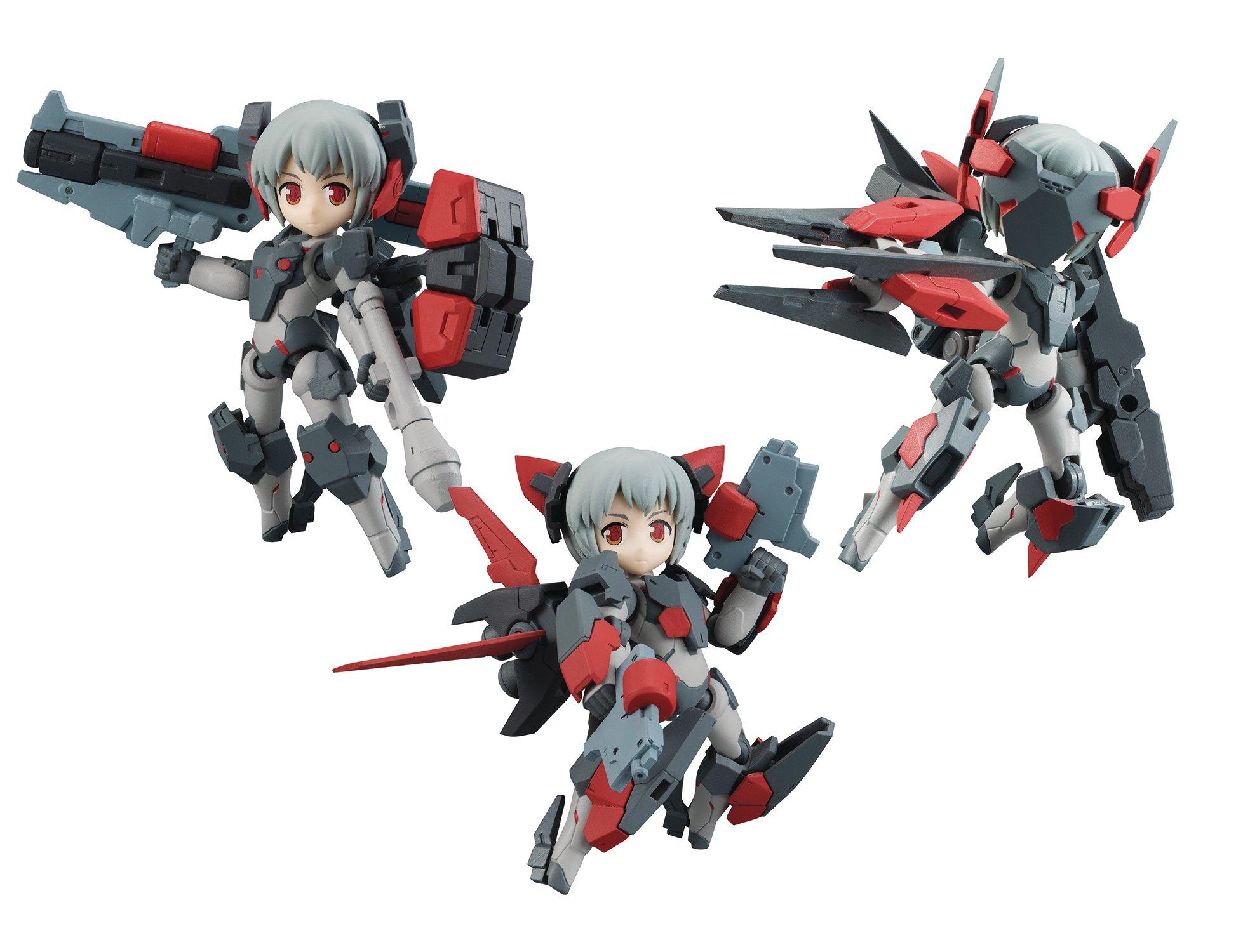 Megahouse Desk Top Army: Y-021D Millenia Series Beta Version Poseable Figure Set
