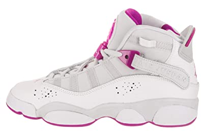 100% quality great fit separation shoes Amazon.com: Nike AIR Jordan 6 Rings Girls Fashion-Sneakers ...
