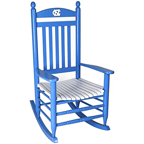 Awesome Amazon Com North Carolina Tar Heels Painted Wood Rocking Gmtry Best Dining Table And Chair Ideas Images Gmtryco