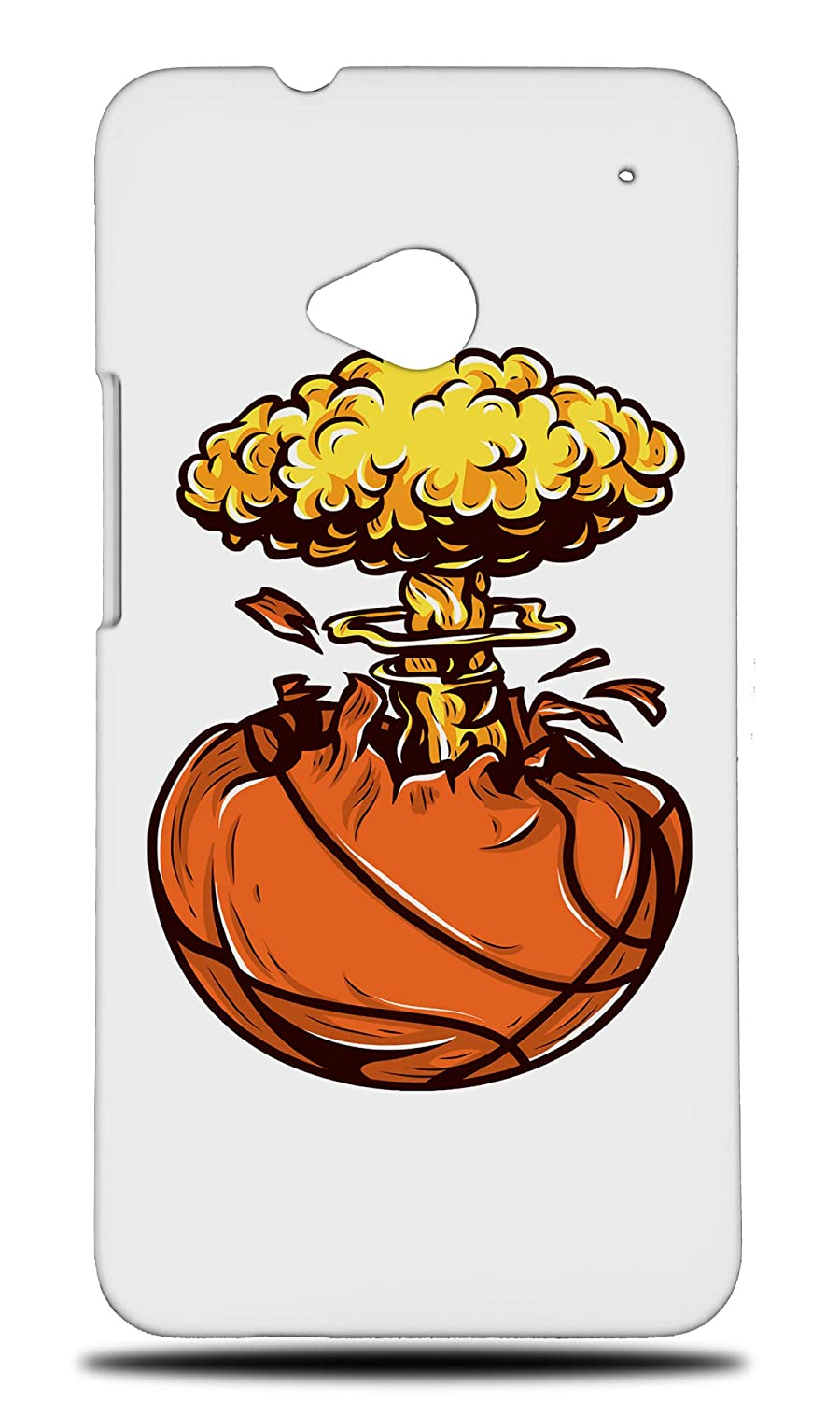 Amazon com: Nuclear Basketball Hard Phone Case Cover for HTC